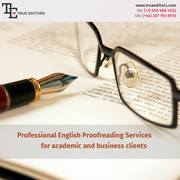 Online Proofreading and Editing Services by Professionals
