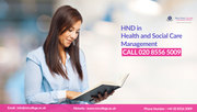 HND Health and Social Care Course in London
