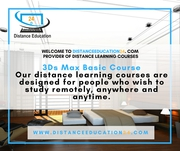 3Ds Max Distance Learning Courses