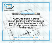 AutoCad Distance Learning Courses
