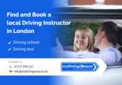 Find and Book a online local Driving Instructor & schools in London