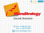 Microstrategy Online Course  |Microstrategy Online Training